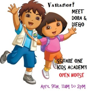 Dora and Diego invitation